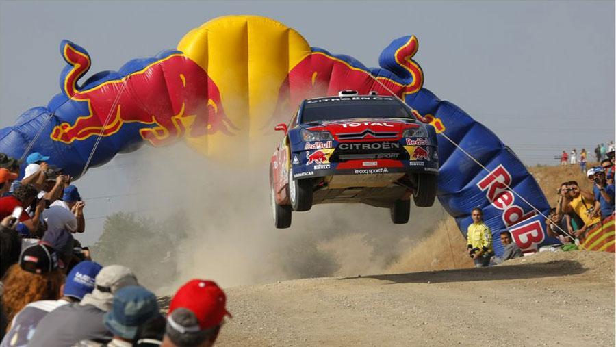 Sebastien Loeb in the 2008 Rally Greece