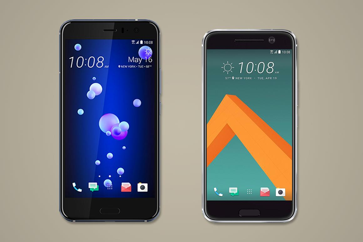 Here's how HTC's new squeezable U11 compares to last year's worthy HTC 10 flagship