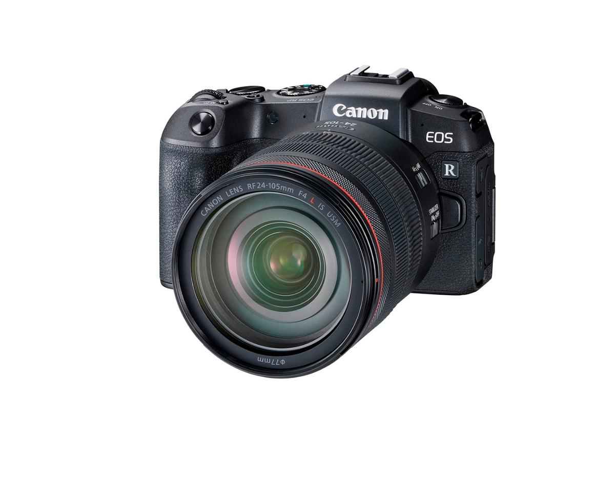 """The """"entry level""""Canon EOS RP full-frame mirrorless camerais smaller than the company's Rebel T7i DSLR camera"""