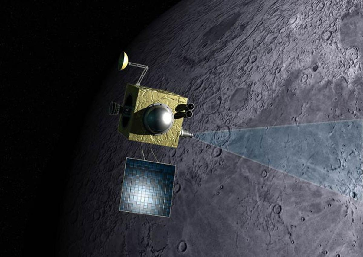 Recent findings suggest the Moon contains underground reservoirs of magmatic water (Image: NASA)
