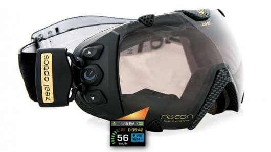 Transend: World first GPS goggles with head mounted display