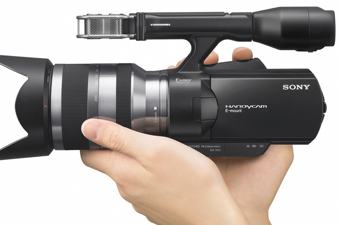 Sony's NEX -VG10 interchangeable lens HD camcorder