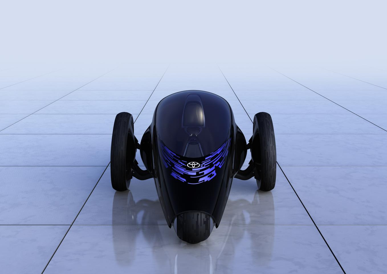 Toyota's FV2 Concept – part robot, part computer-human interface, part motorcycle, part car