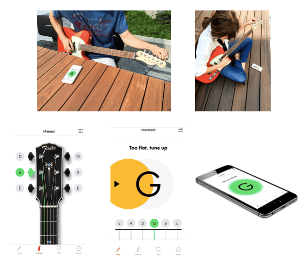 The Fender Tune app runs on iOS 8.1 or later and proved easy to use, accurate and helpful in our quick test