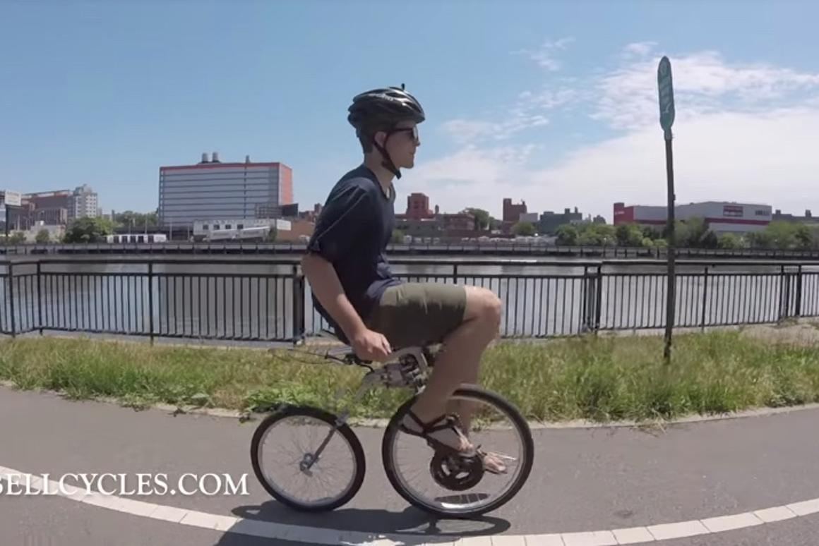 The Bellcycle ain't your average bike