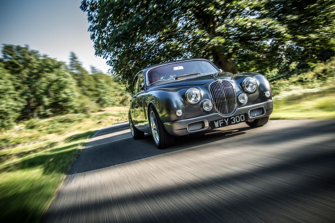 The updated Jaguar Mark 2 was designed in a collaboration between Jaguar designer Ian Callum and CMC (Photo: CMC/Charlie Magee)