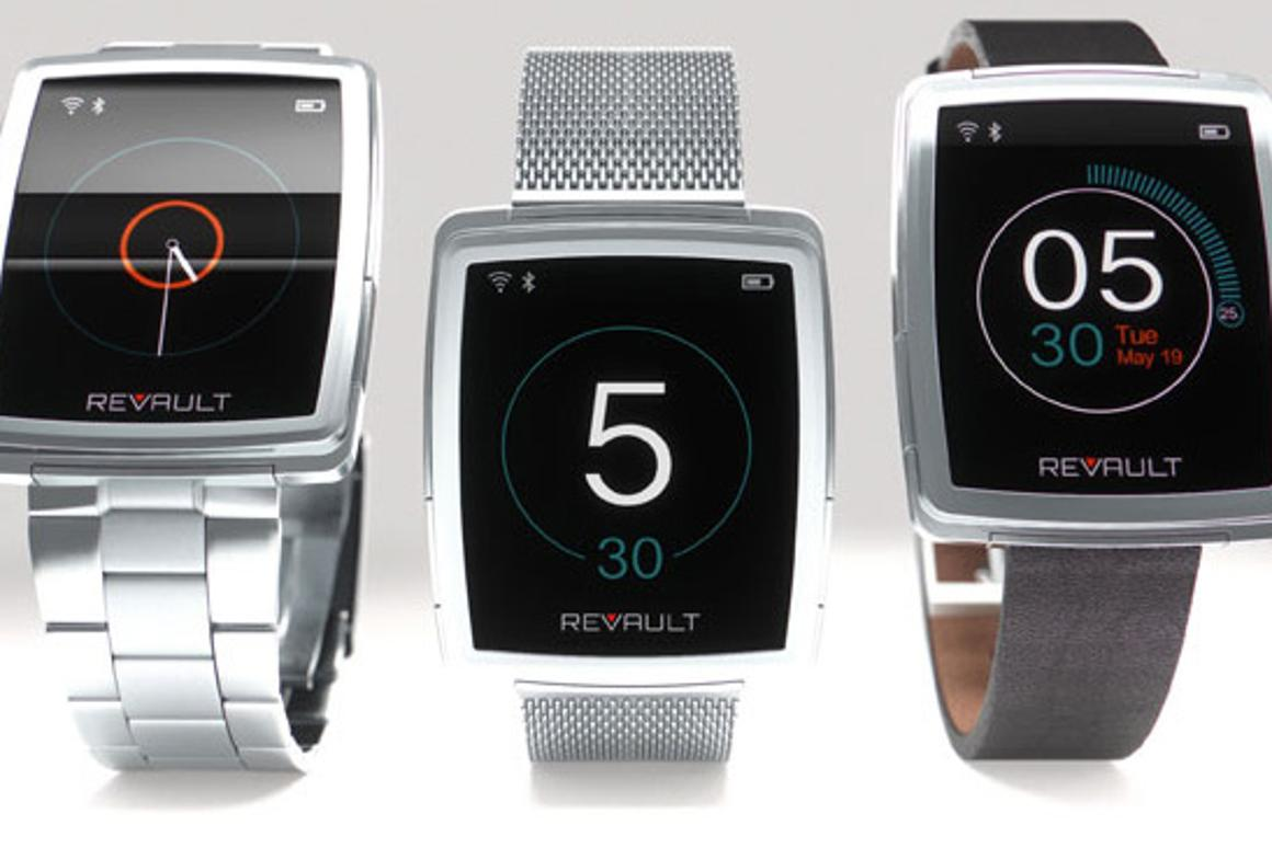 ReVault is a wireless hard drive that users can wear on their wrist (or around their neck)