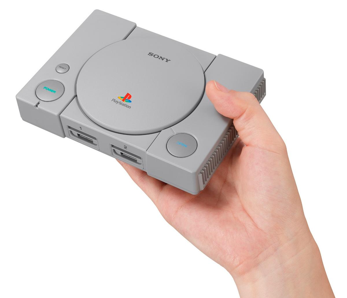 Sony has announced the PlayStation Classic, a retro mini version of the original games console
