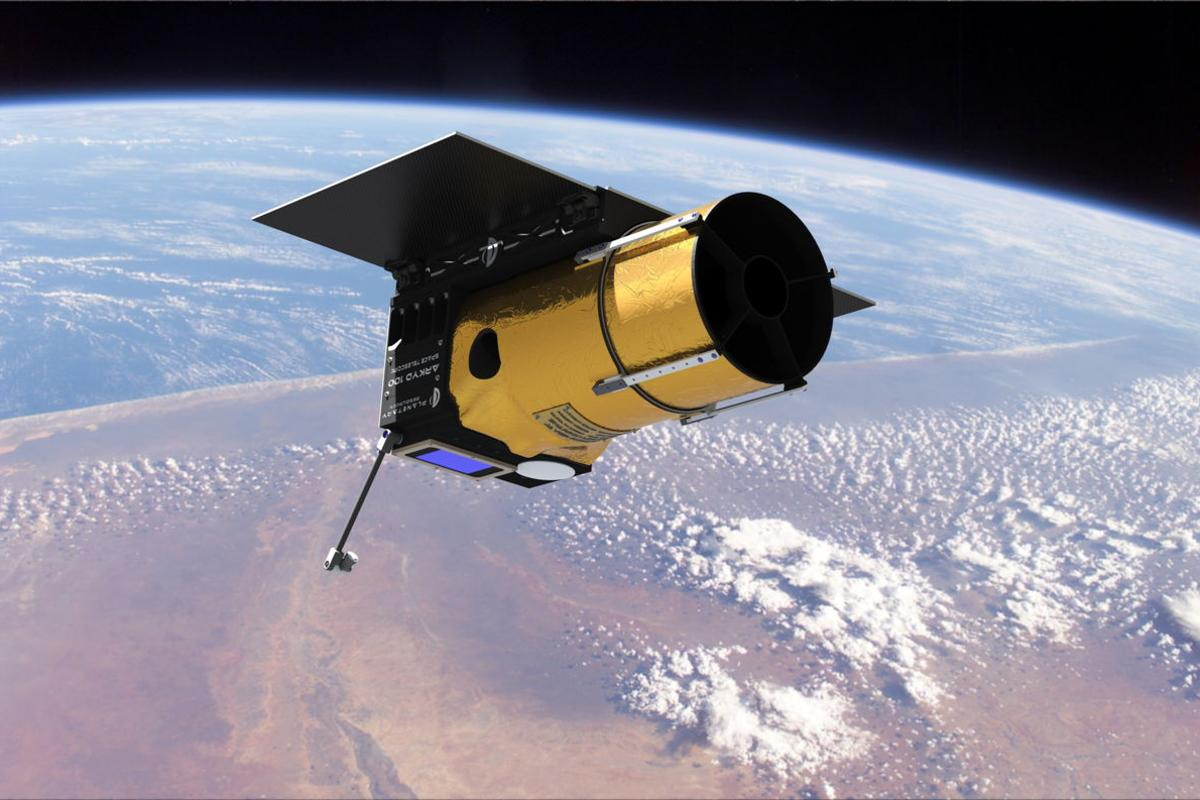 The Ceres observation system will be based on the Arkyd asteroid prospecting satellite