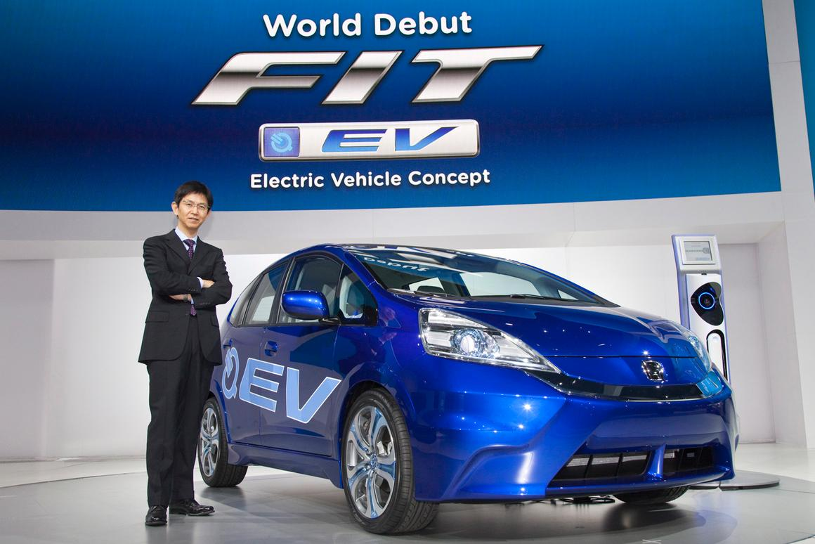 The Fit EV has a top speed of 90 mph (145 km/h), which should be more than adequate for commuting purposes