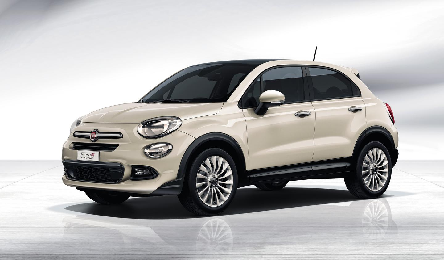 The Fiat 500X comes in a choice of 12 liveries