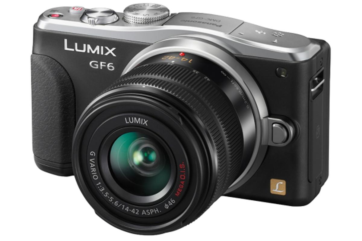 The Panasonic LUMIX DMC-GF6 is the first interchangeable lens camera to feature NFC