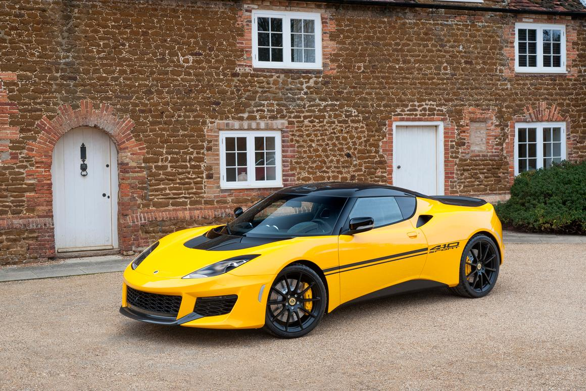 The Lotus Evora Sport 410 is a lighter, faster limited edition version of the Evora Sport 400