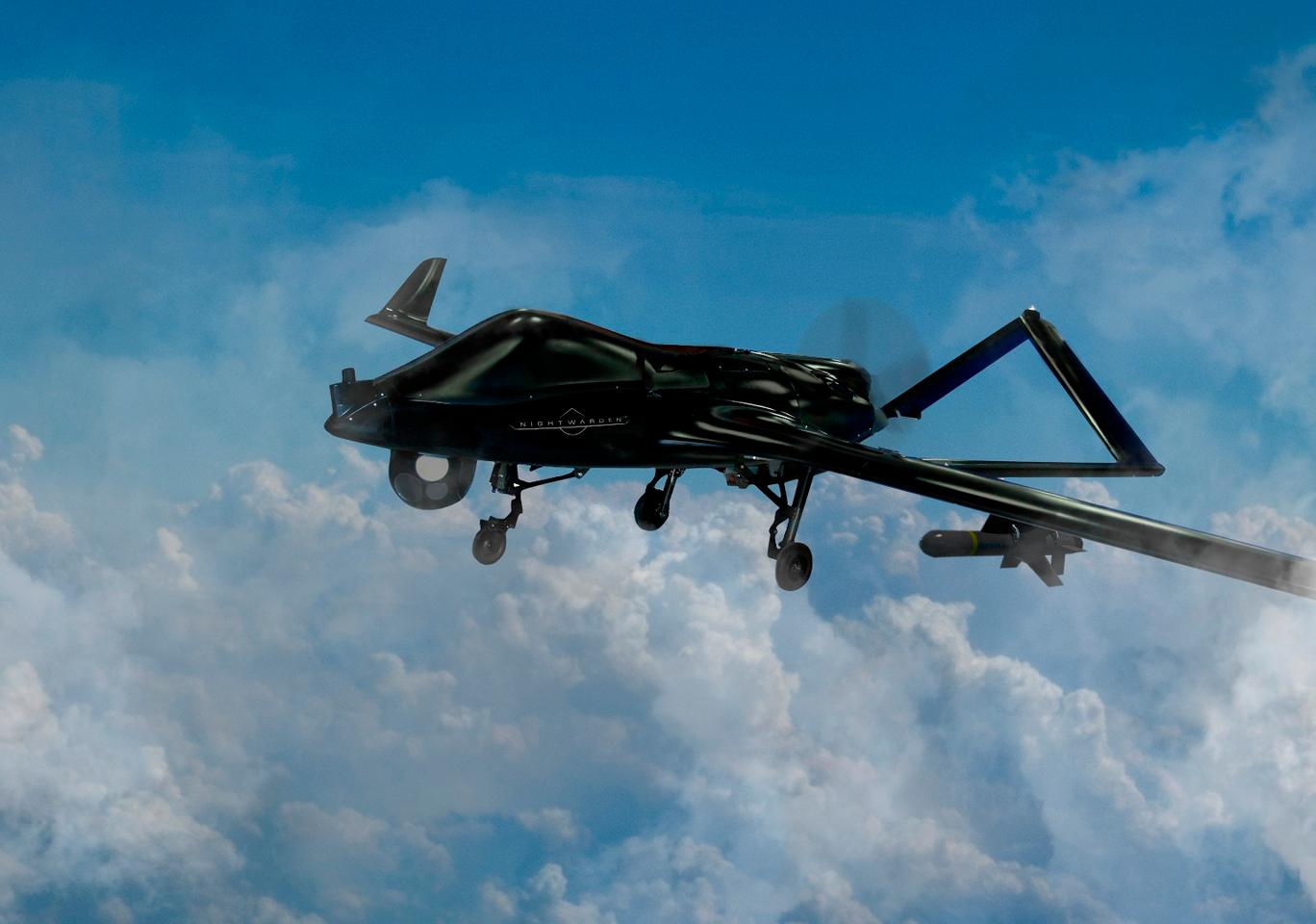 The Nightwarden is the latest variant of the Shadow UAV system
