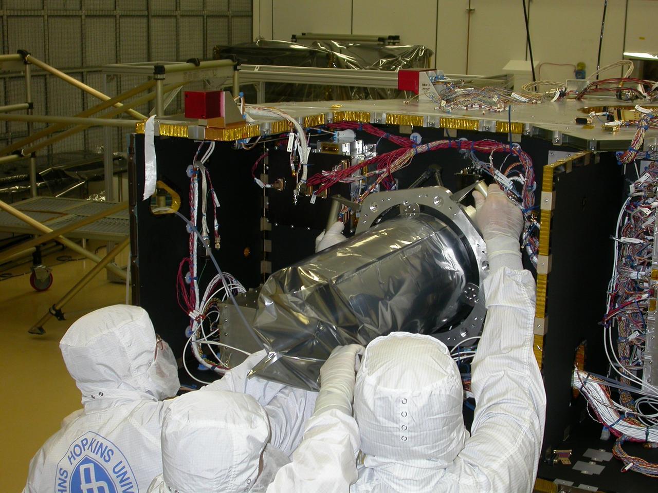 Long Range Reconnaissance Imager (LORRI) (Image: NASA)