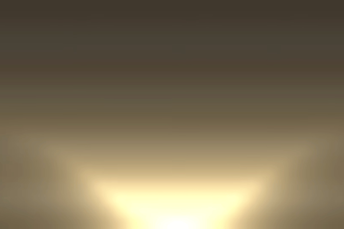 Simulation of what a sunset might look on Mars