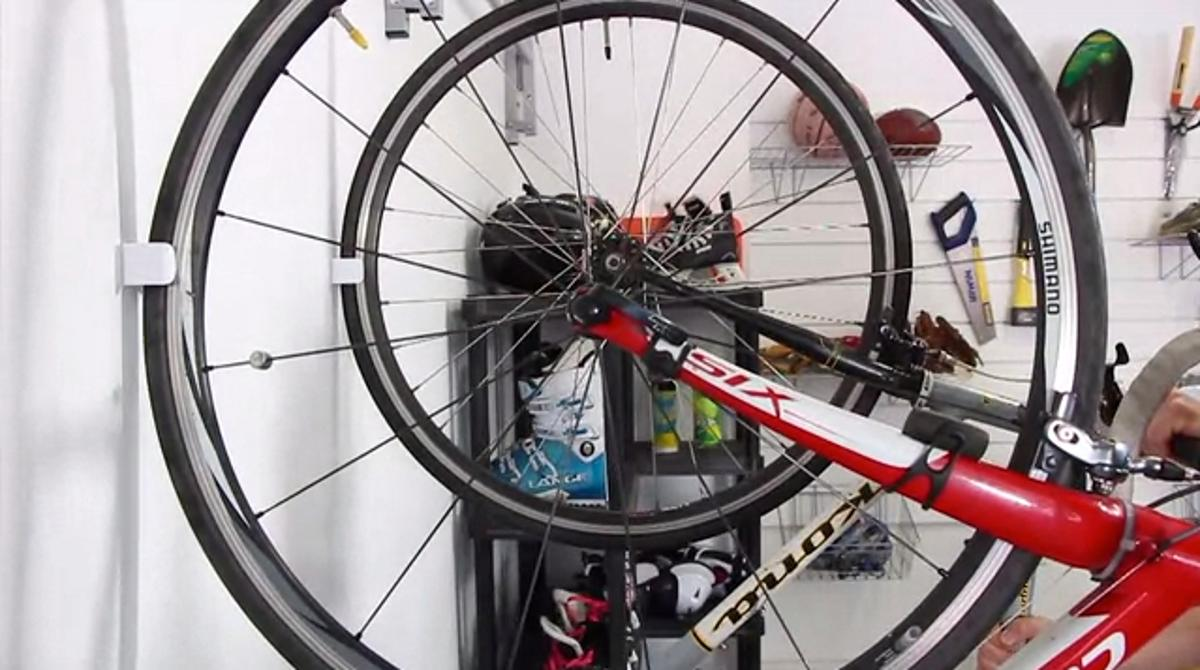 The Clug is designed to make bicycle storage easier