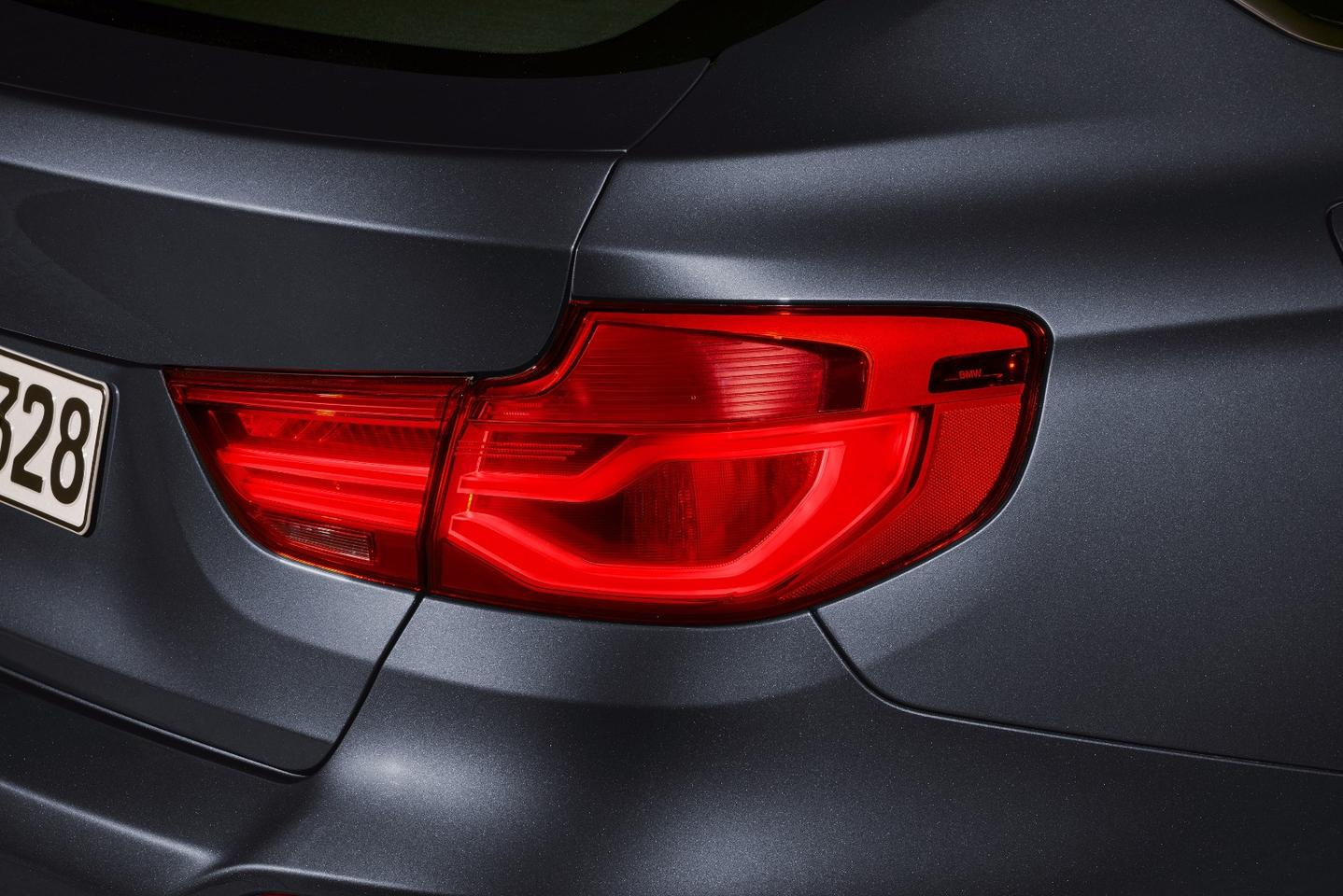 BMW's light signatures have been applied to the 3 Series GT