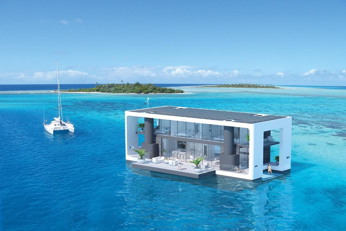 Arkup liveable yacht concept:take it somewhere beautiful as the ultimate home base