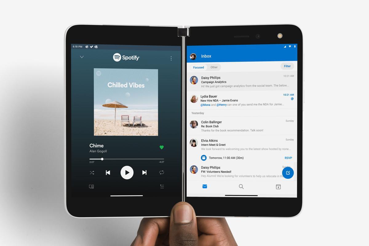 بازگشت مایکروسافت به میدان گوشی های هوشمند با گوشی سرفیس دوو