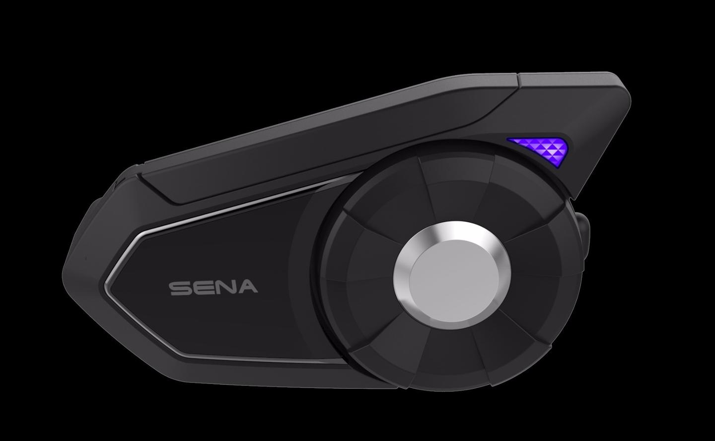 The 30K is Sena's new flagship Bluetooth communicator