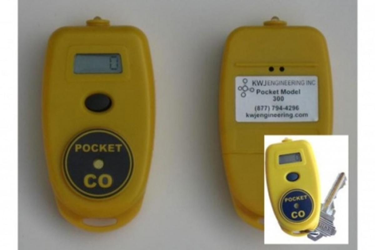 The Pocket CO can detect carbon monoxide at levels as low as one part per million