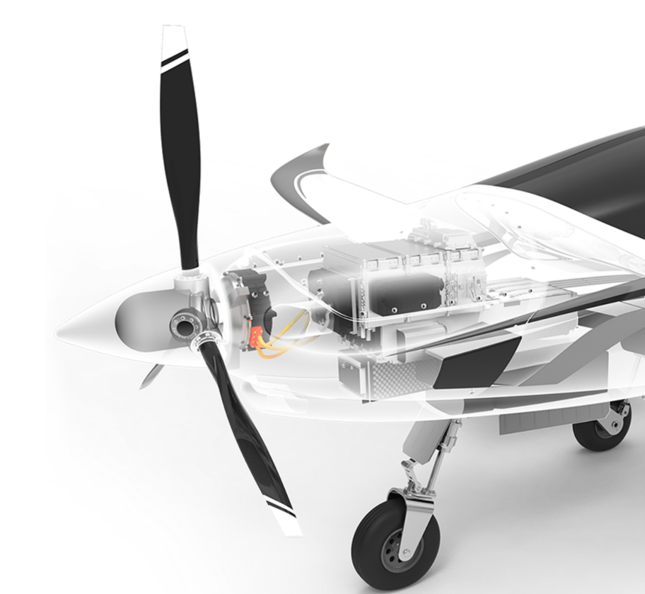 Electric aviation is one target market for the Magnax motor
