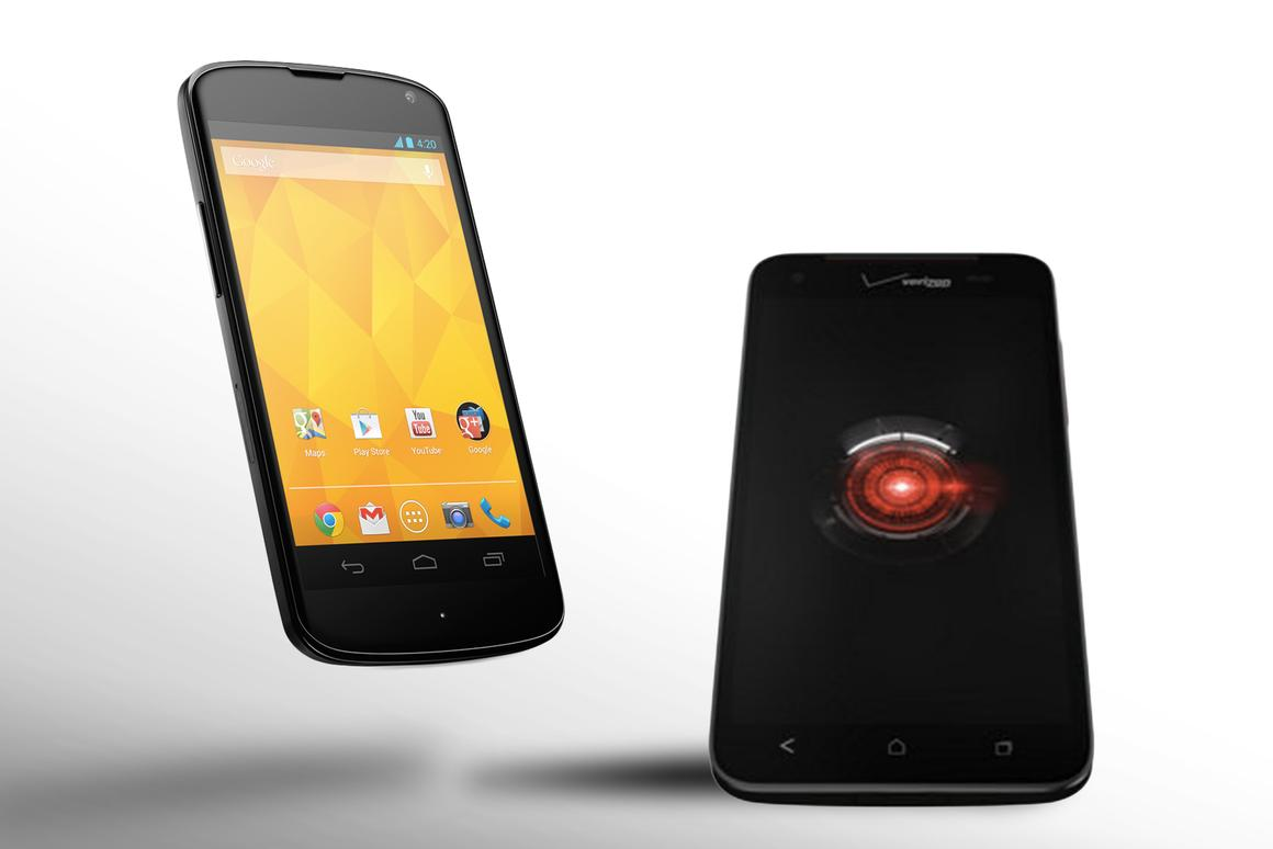 How does the HTC Droid DNA compare to the Nexus 4?