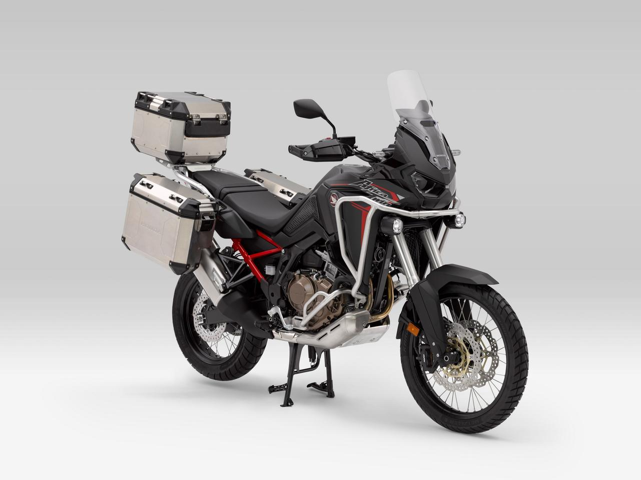 The 2020 Honda CRF1100L Africa Twin loaded with official accessories