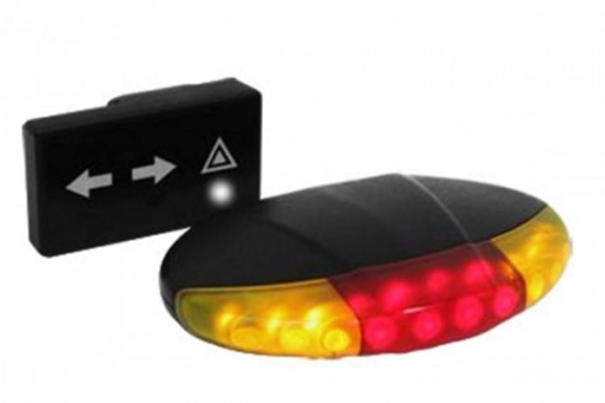 The Spooklight wireless indicator and brake light