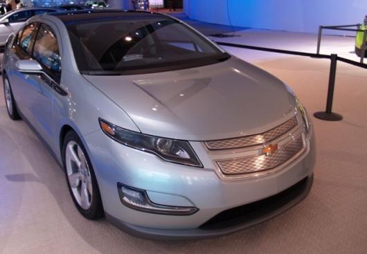 Chevrolet Volt at the 2009 NAIASPhoto: Noel McKeegan/Gizmag