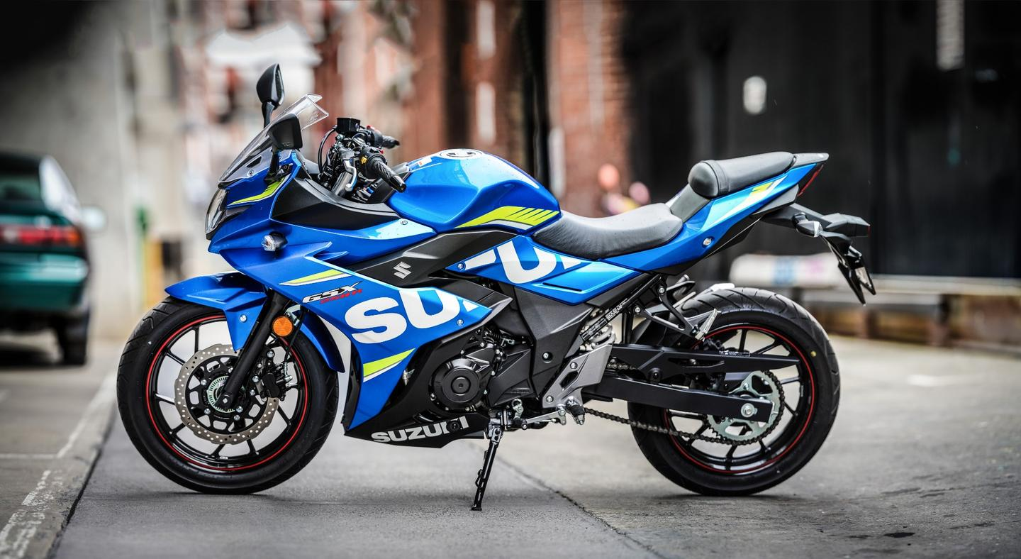 Suzuki GSX250R: parallel twin looks like a race bike, but rides more like a commuter