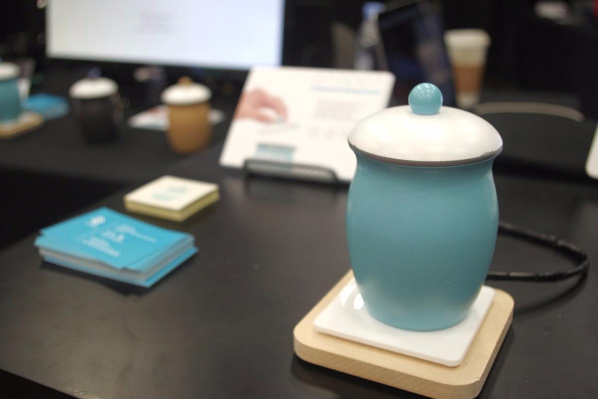 The Otopot: A jar in which to store your voice until someone pours it away