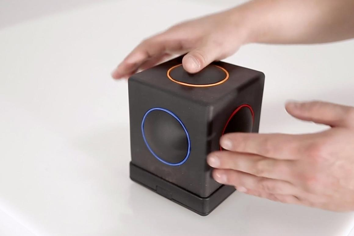 The Skoog 2.0 is described as a totally new kind of musical instrument