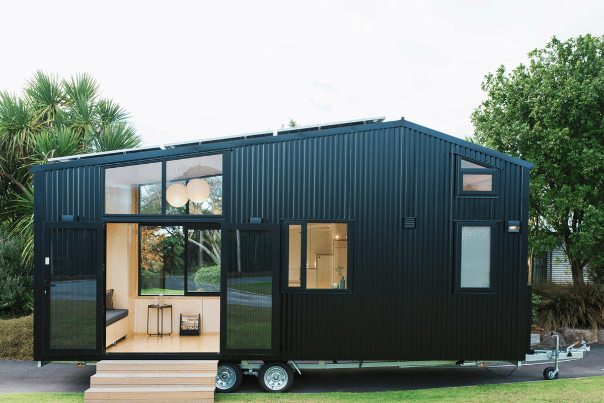The First Light Tiny House, by Build Tiny, is one of our favorite tiny houses of 2019