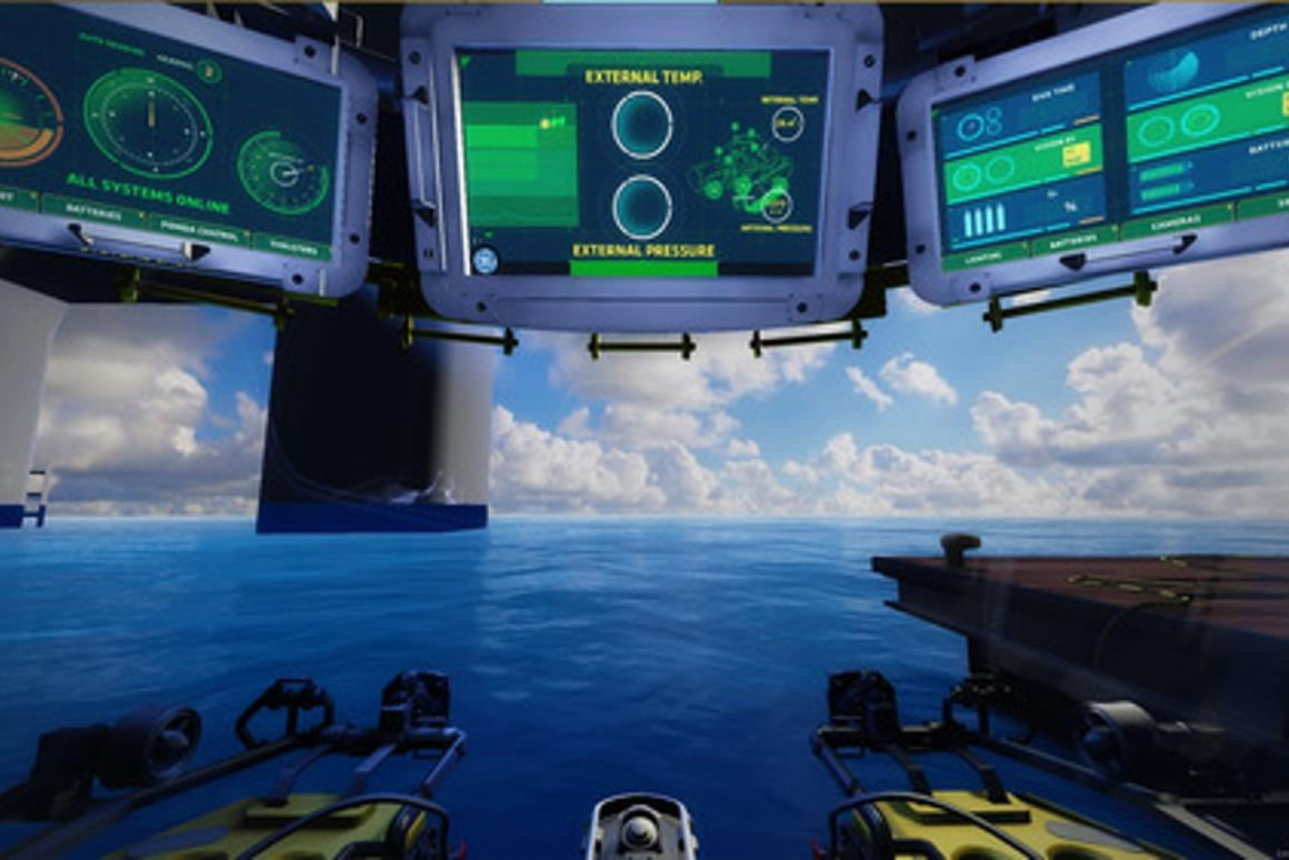 GE is using virtual reality to explain the technology behind its vision for subsea robotic factories