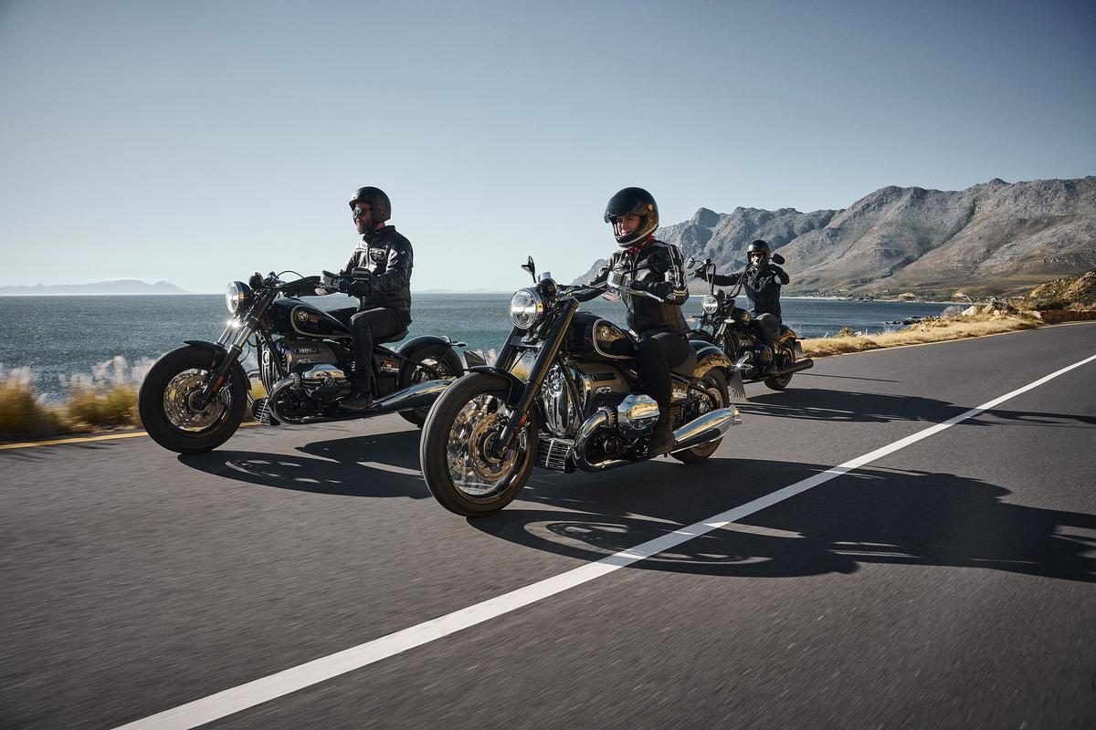 BMW R18 Cruiser: the new 1.8-liter boxer twin looks enormous, both externally and internally