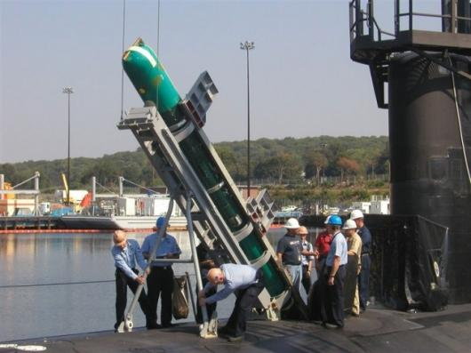 """21"""" Unmanned Underwater Vehicle (UUV) Photo: U.S. Navy"""