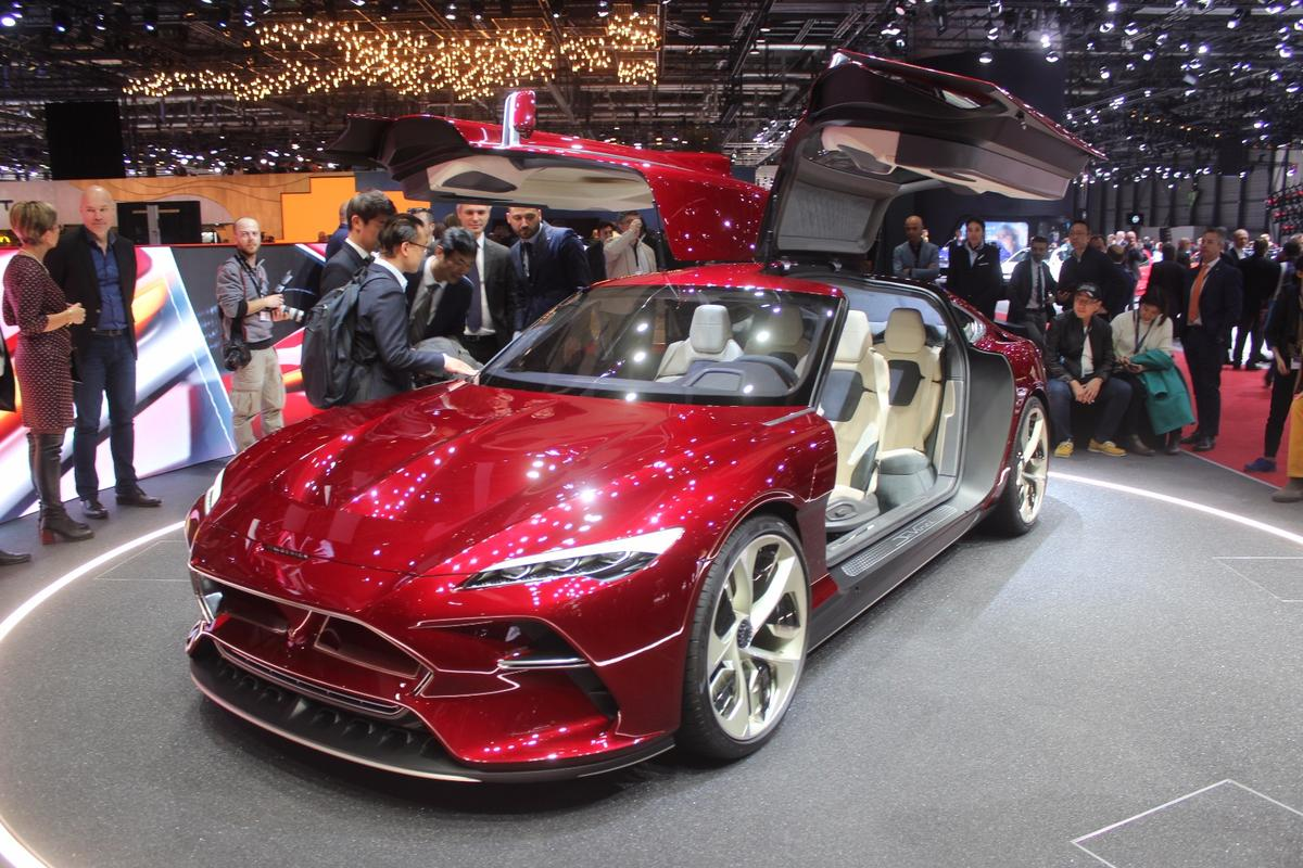 Italdesign is a long-running design firm that's worked with nearly every major automotive nameplate on the globe