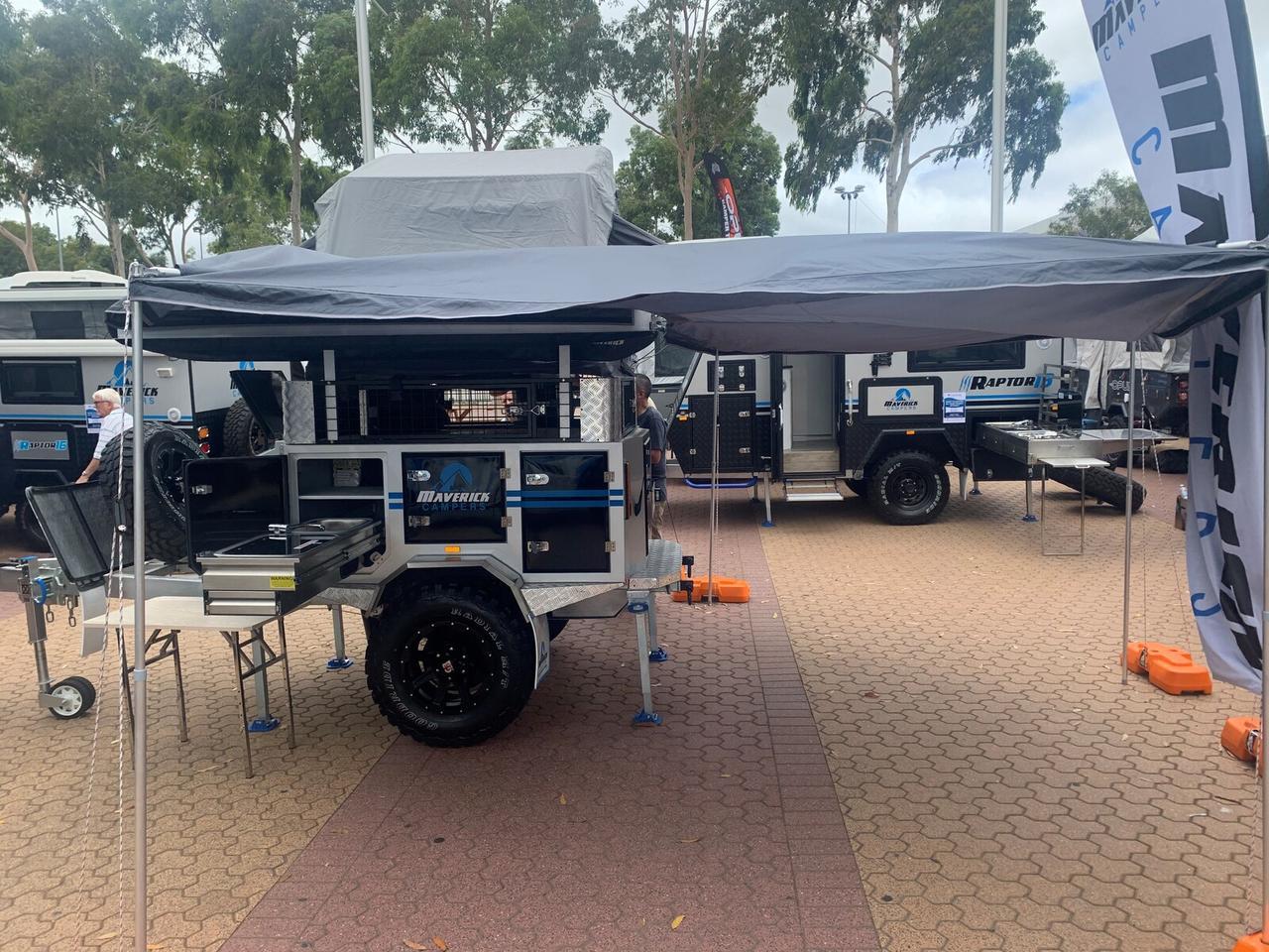 Maverick shows the new Hornet trailer on the trade fair circuit