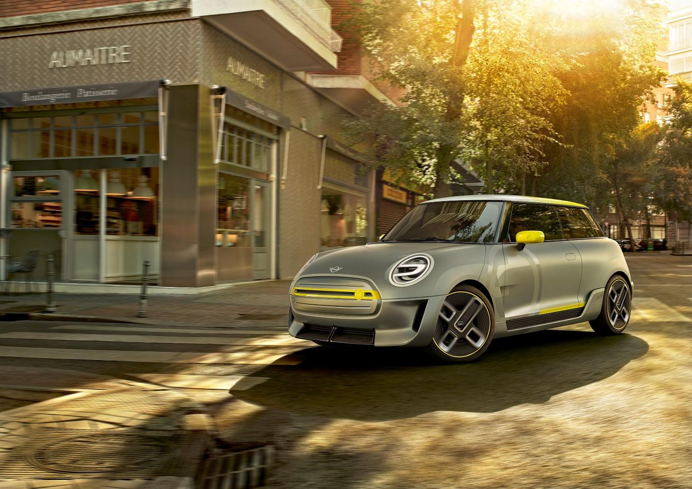 The new Mini Electric Concept will debut in September