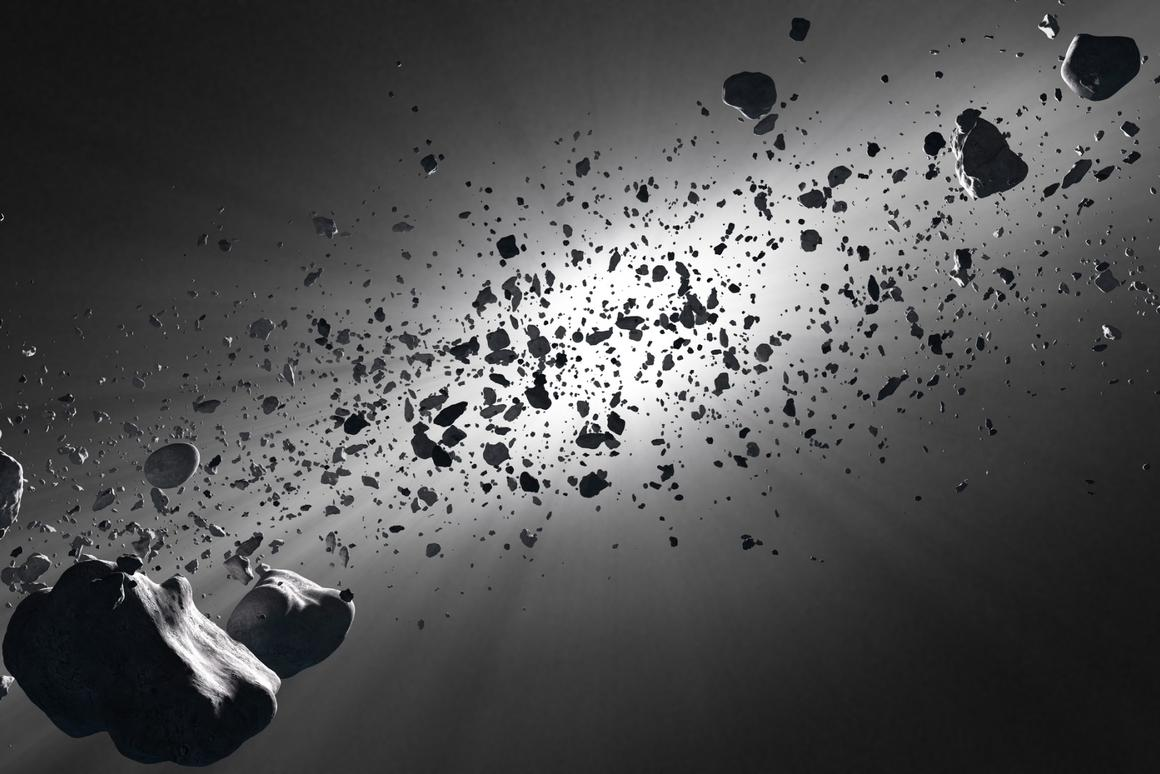 A new Harvard study suggests life isspreading throughout the galaxy onboard asteroids