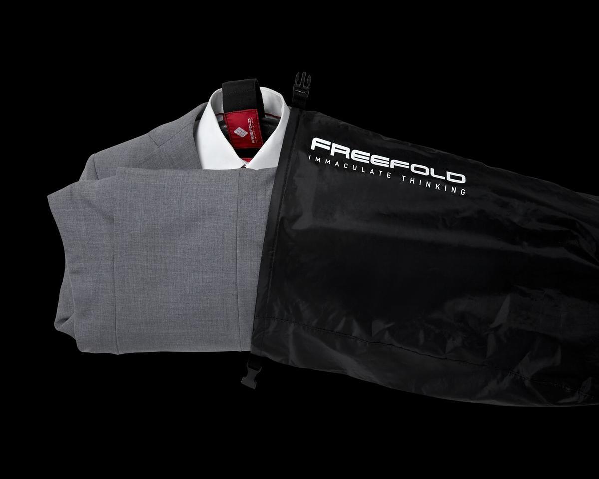 The Freefold garment transport system