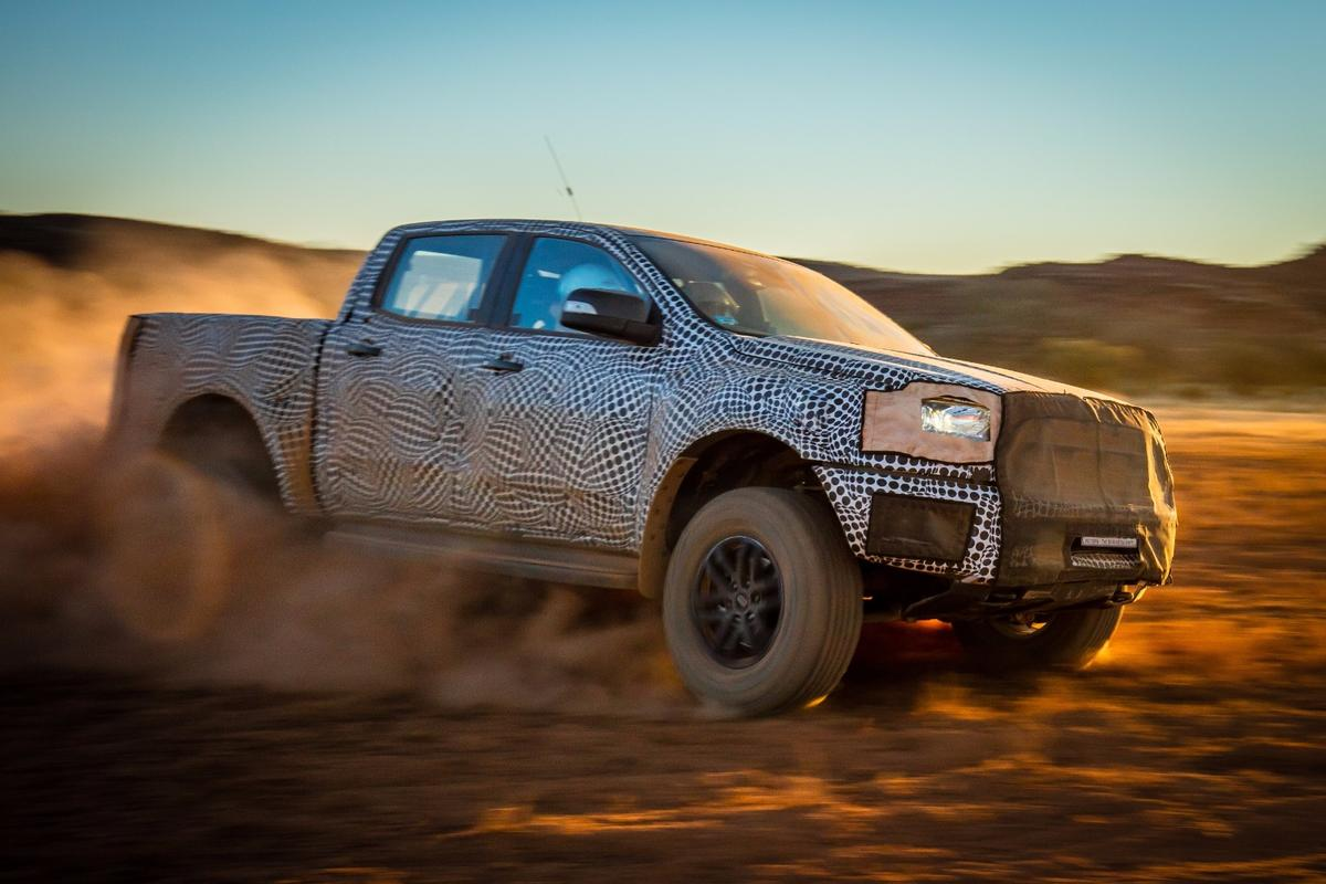 The Ford Ranger Raptor will be landing next year