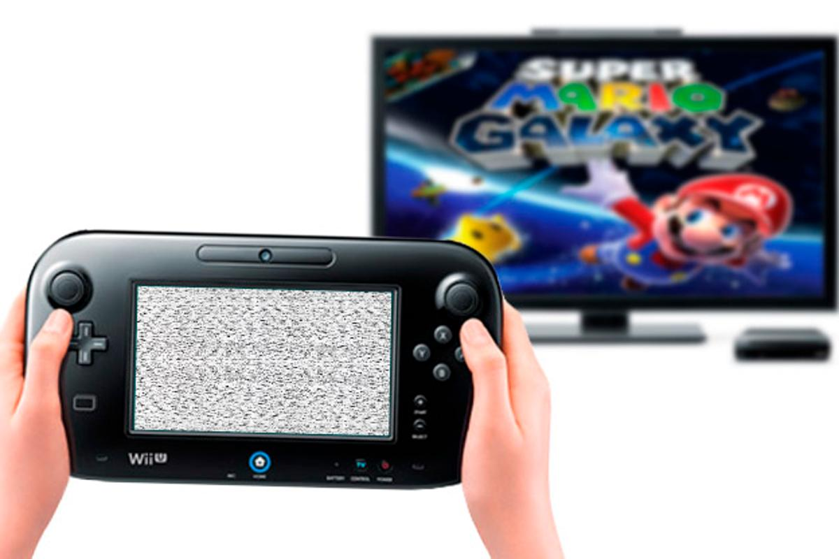 It may not look like this, but you can forget playing Wii games on the GamePad