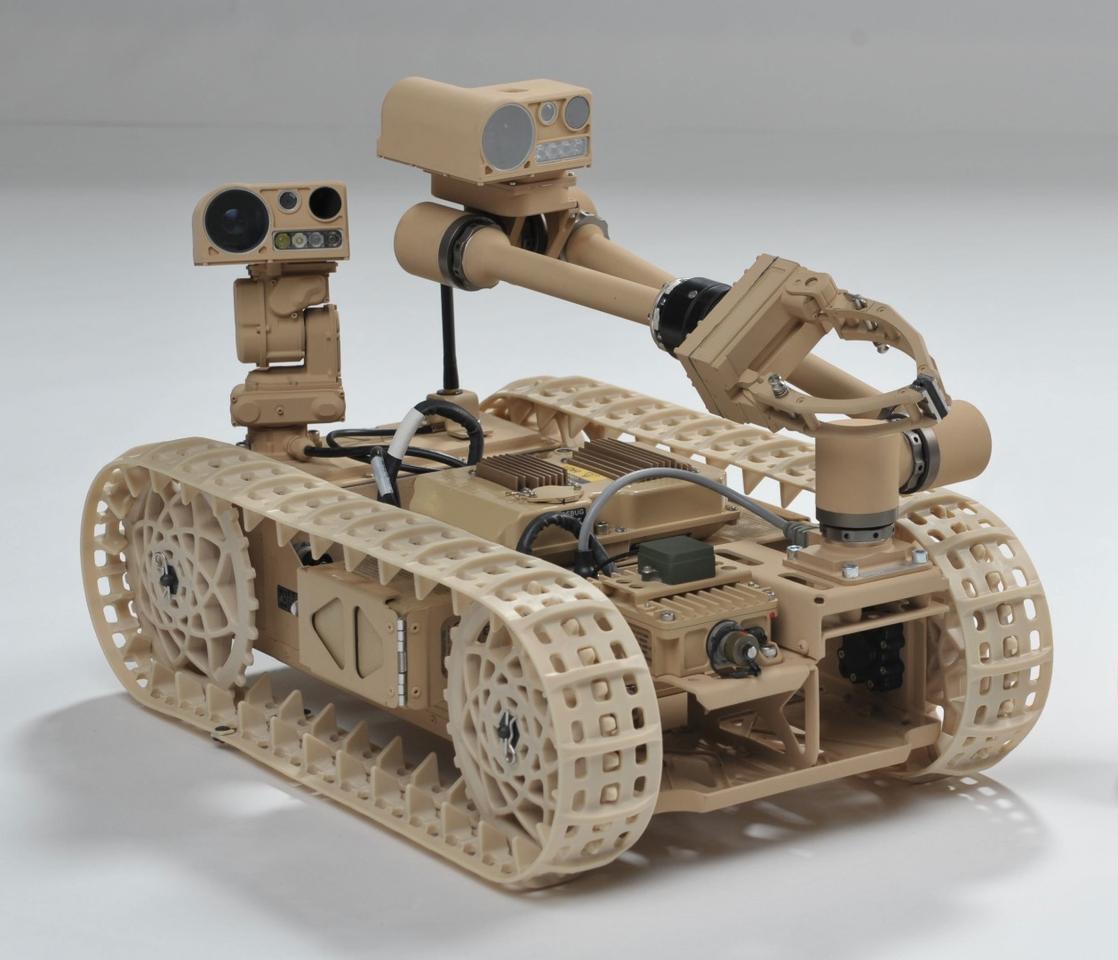 Researchers explore new techniques using the Advanced Explosive Ordnance Disposal Robotic System Increment 1 Platform