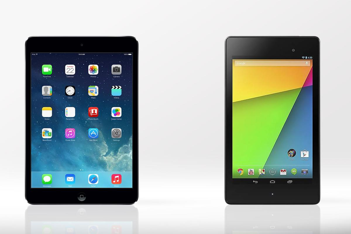 Gizmag compares the features and specs of the iPad mini with Retina Display and 2013 Nexus 7