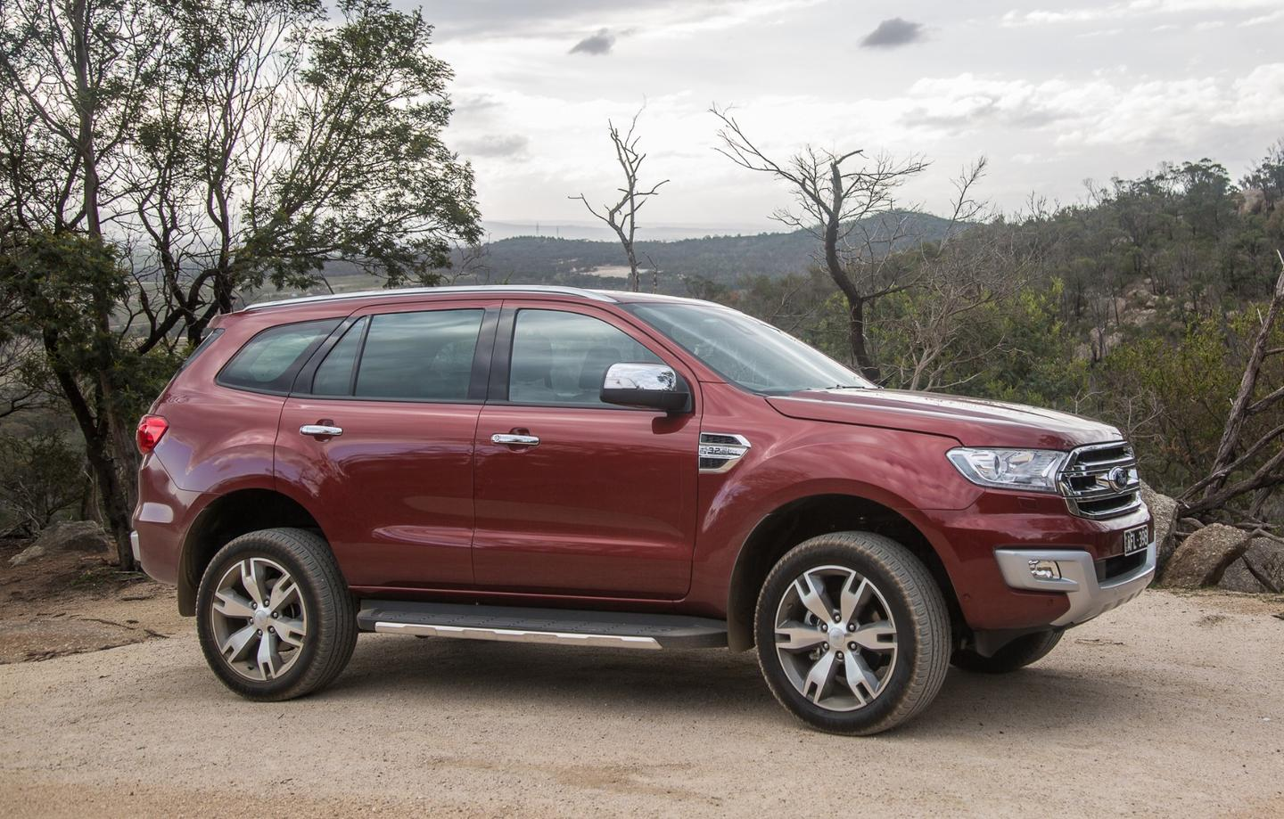 """Our test rig was the top of the line Titanium model with 20"""" Alloy wheels"""