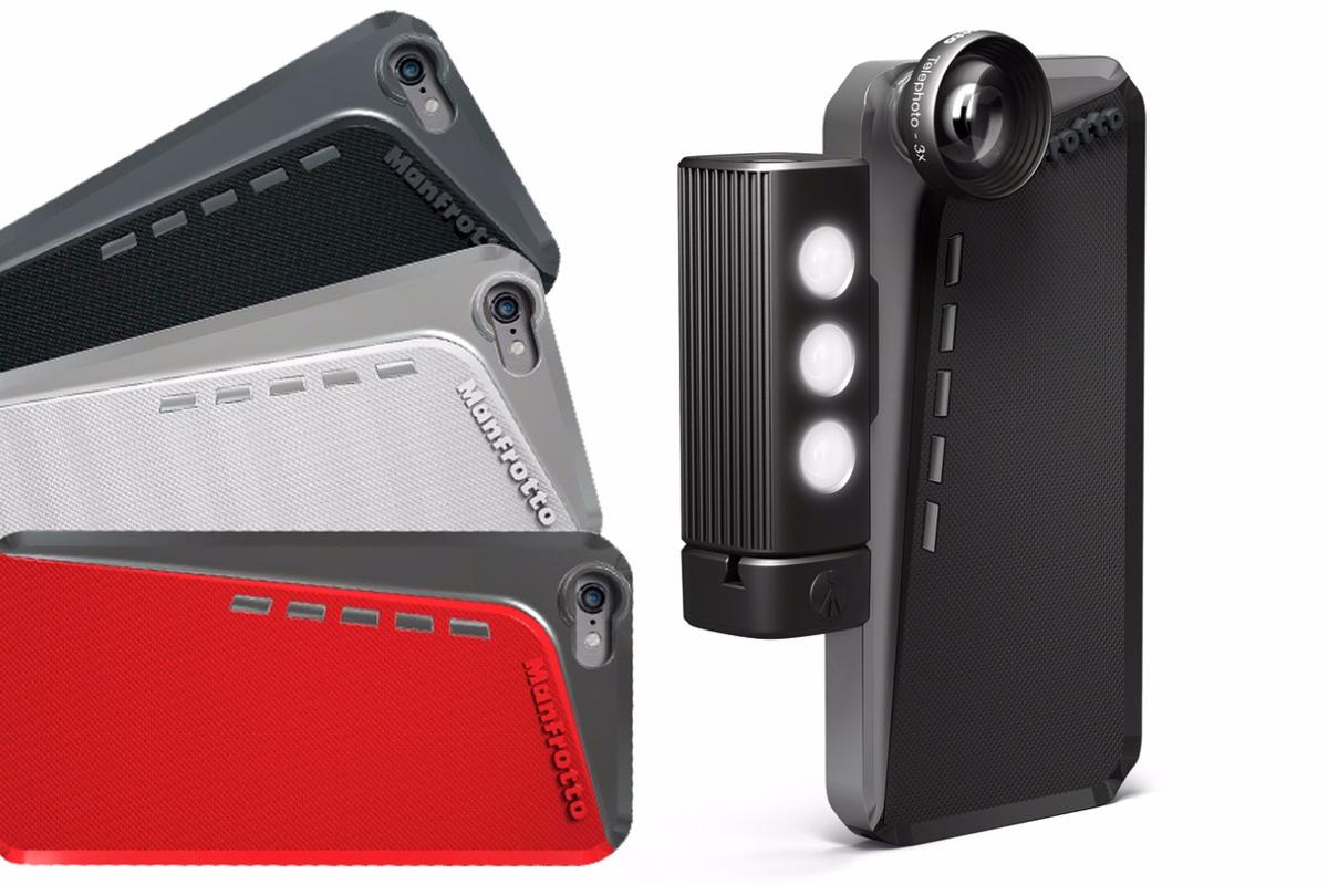 The Manfrotto Klyp+ case for iPhone 6 and 6 Plus is the latest iteration of the firm's photography-enhancing case