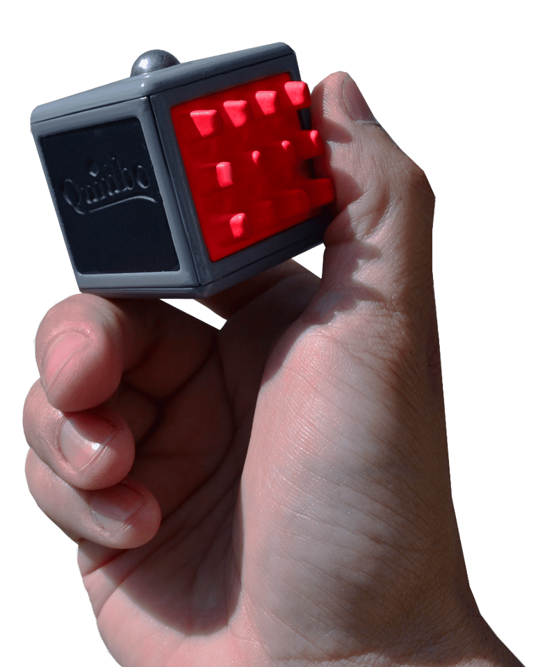"""The Quiubo rocks a built-in gyro sensor, which is used to """"measure the rate of rotation around the x, y and z axes"""""""